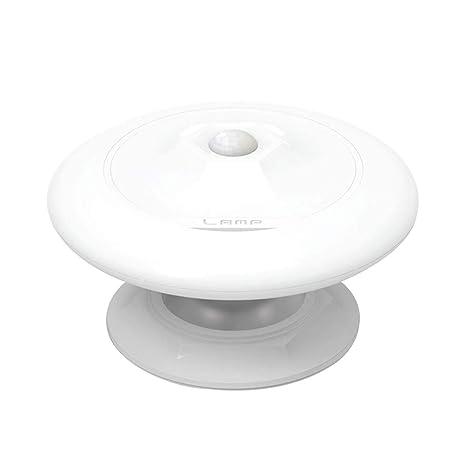 Vosarea Lámpara de Noche LED UFO en Forma de 360 Grados rotativo ...