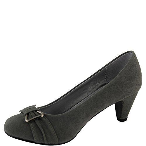 chaussure en Gris Chaussure daim élégant v1015 Ywxnp1nT0q