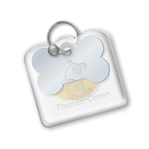 ThunderShirt ThunderCover Dog Tag Silencer - Clear