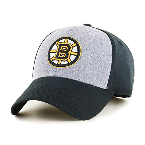 OTS NHL Boston Bruins Male Essential All-Star Adjustable Hat, Black, One Size ()