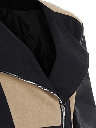 Donna Maglione Lunghe Giacca Pullover Cachi Caldo Lana a Cappotto Felpa Cardigan Vento Trincea Donna Outwear Cappotto Giacca Elegante Autunno Invernale di Pelle Homebaby Maniche c1SpFW