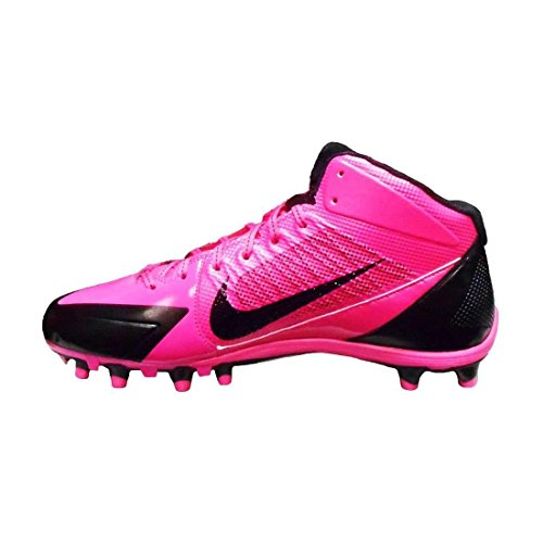 Nike Alpha Pro 3/4 Td Roze Borstkanker Heren Voetbalcleats 11.5 Us