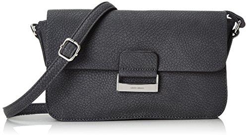 Gerry Weber Talk Different II Flap Bag H, S - Bolso bandolera Mujer Grau (dark grey 802)