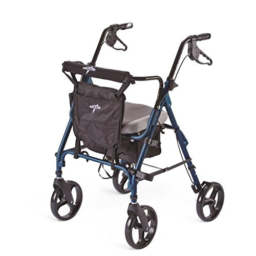 Medline Deluxe Comfort Folding Rollator