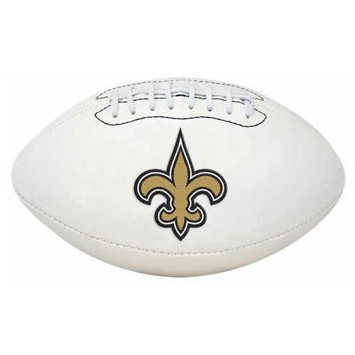 NFL Signature Series Full Regulation-Size (New Orleans Saints Signature Football)