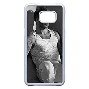TPU David Beckham_007 Samsung Galaxy Note 5 Edge Cell Phone Case White Protective Cover