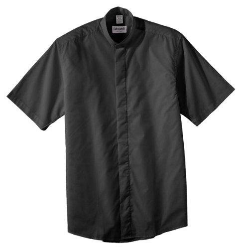 Straight Collar Broadcloth Shirt - 3