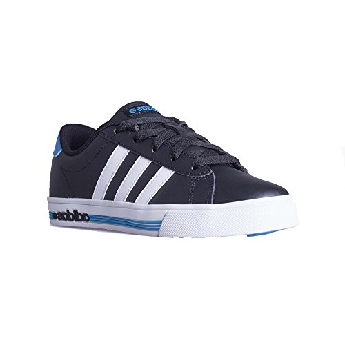 adidas Daily Team Unisex-Kinder Sneakers Black / White / Blue