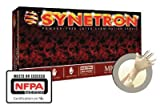 Microflex SY-911-XXL 2X Natural 11.417'' Synetron 9.1 mil Latex Ambidextrous Non-Sterile Medical Grade Powder-Free Disposable Gloves With Fully Textured Finish, Extended Beaded Cuff And Polymer Coating(50 Each Per Box) (1/BX)