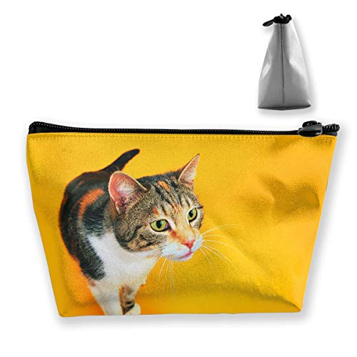 30ce18c68418 Amazon.com: customgogo Women's Animals Cats Funny Cat Travel Makeup ...