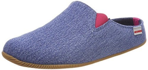 Giesswein Vrouwen Pama Slippers Blauw (jeans)