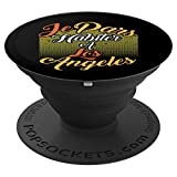 Je Pars Habiter A Los Angeles Gift Design - PopSockets Grip and Stand for Phones and Tablets