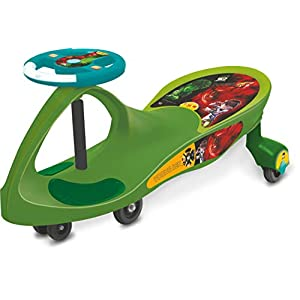 Toyzone Ben10 Premium Kids Magic Car/Swing Car Ride On