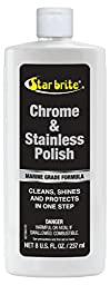 Star brite Chrome and Stainless Steel Cleaner Polish, 8 oz