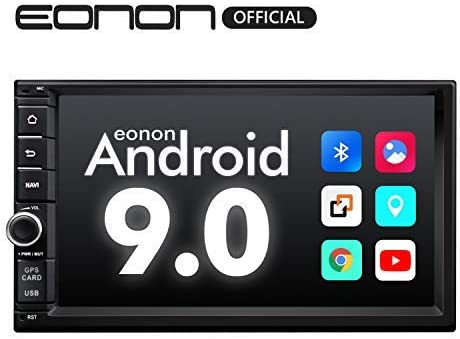 2020 Double Din Car Stereo,Android Radio with Bluetooth 5.0, Eonon 7 Inch Android 9.0 Car Radio Android Head Unit Car Stereo with Navigation with ...