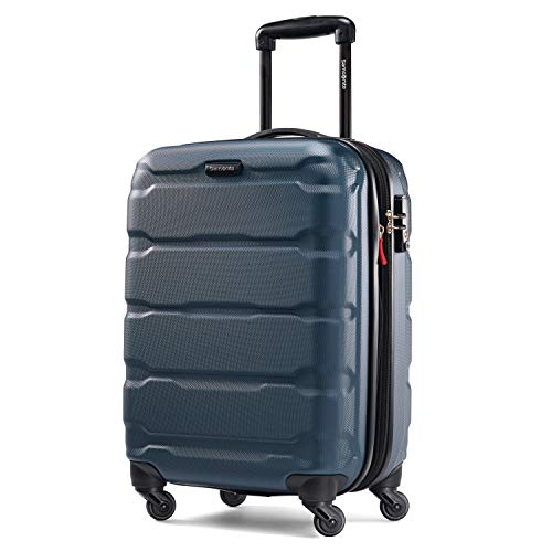 Samsonite Omni PC Hardside 20-Inch One Size Spinner - Reg Teal (Best Hardside Luggage Reviews)
