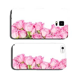 Valentines day background with pink roses cell phone cover case iPhone6 Plus