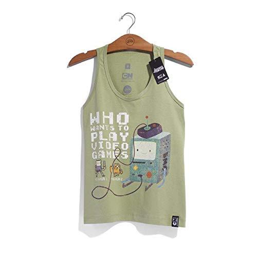 Camiseta Feminina Hora De Aventura Bmo 8 Bits
