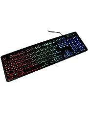 لوحة مفاتيح باندا للألعاب مزودة بضوء – V5