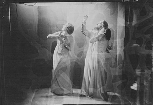 Fatal Frame V Costumes (Photo: Guthrie dancers,performers,acetate negatives,women,costumes,Arnold Genthe,1932)