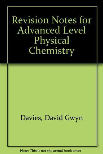 Advanced Physical Chemistry Pdf