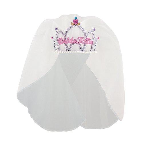 Bride To Be Tiara With Veil ()