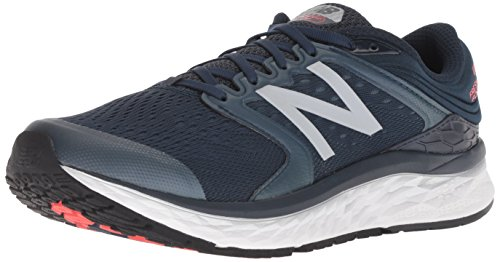 New Balance Men's 1080v8 Fresh Foam Running Shoe, Navy, 15 D US