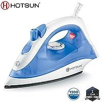 Hotsun Loco 1200W Non-Stick Sole Plate Steam Iron-Blue