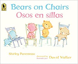 Bears on Chairs/Osos en sillas (Spanish Edition): Shirley Parenteau ...