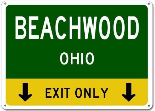 Beachwood, Ohio This Exit Only - Heavy Duty - 12
