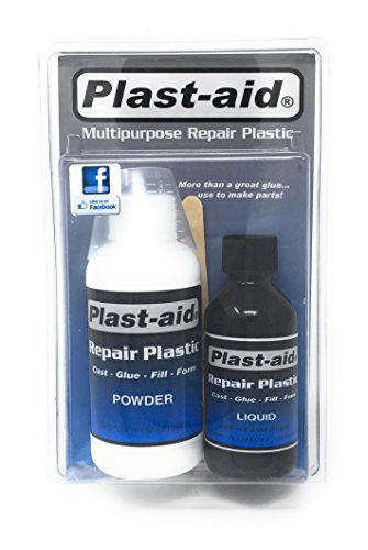 Spa Repair - Plast-aid Multipurpose Repair Plastic - 6oz Kit Pool and Spa Repair