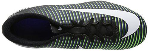 Nike 831952-013, Botas de Fútbol Unisex Adulto Negro (Black / White-Electric Green)
