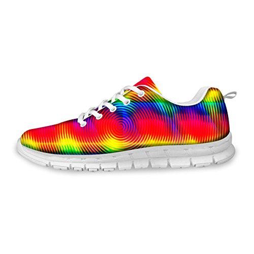 Abrazos Idea Hugsidea Zapatos Deportivos Ligeros Para Mujer De Color Mezclado Zapatos Deportivos Cómodos Para Caminar Casual Comfort Us12