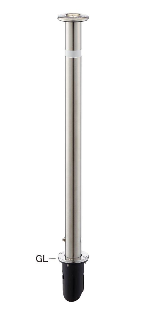 帝金バリカー 車止め上下式 ステンレス製 φ48.6 GLH=710 交換用柱のみ KS-22 B017CRV9US 11194