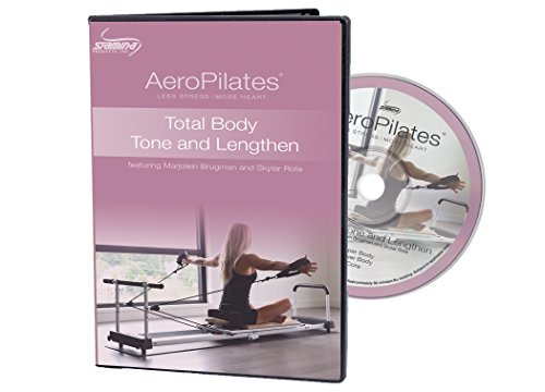 AeroPilates by Stamina Total Body Tone & Lengthen Workout DVD by AeroPilates by Stamina