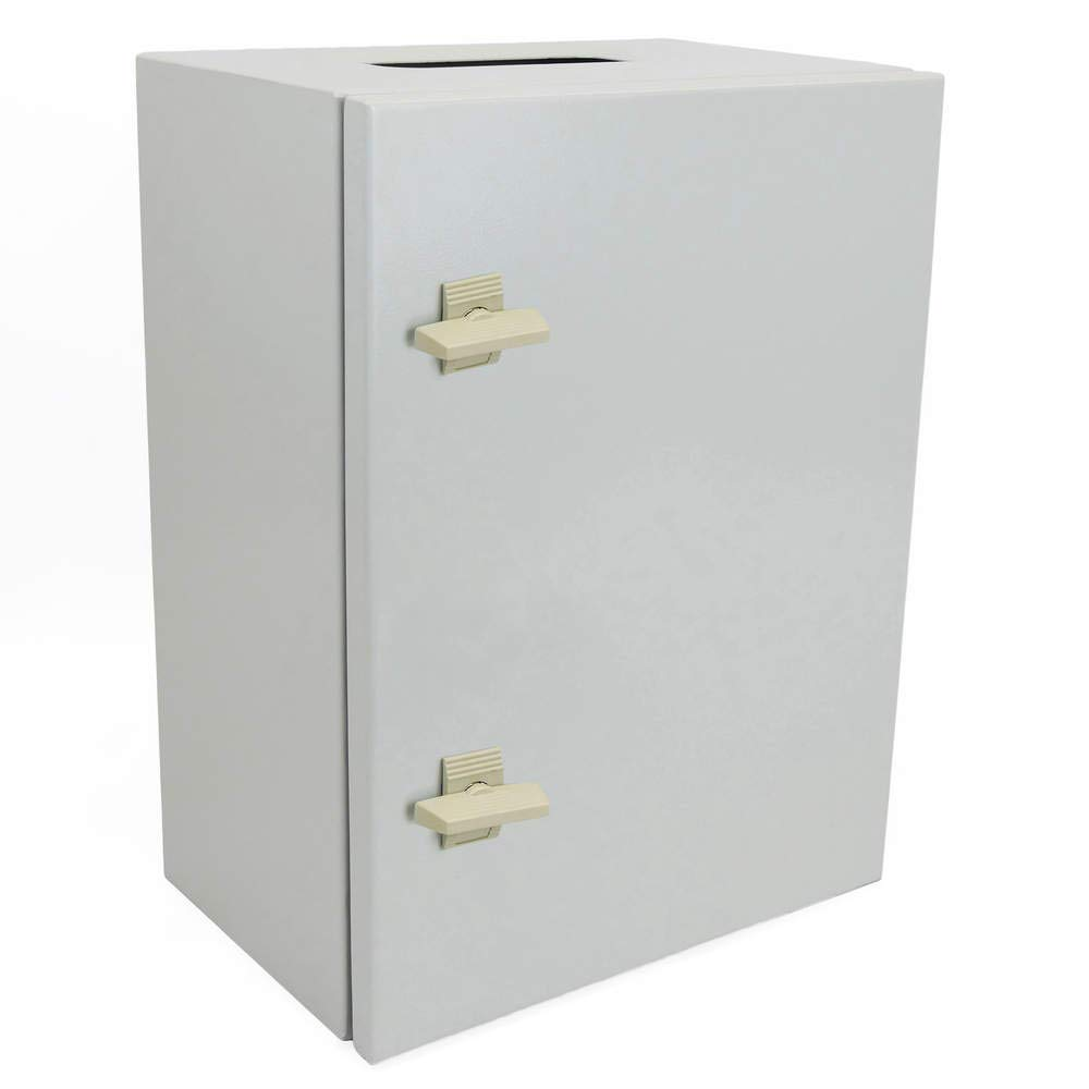 Metal electrical distribution box IP65 for wall mounting 600x400x200mm Cablematic.com PN23021518200125101