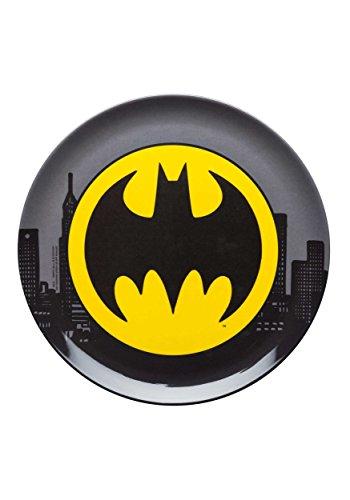 (Zak Designs Batman 10in Durable Melamine Plate, Batman Core)