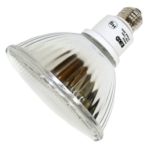 Eiko 06277 - 23 Watt Indoor/Outdoor Compact Fluorescent PAR38 Flood, 3000K ()