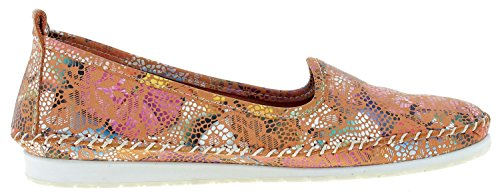 Andrea Conti 0021608 Womens Slip On Orange vkFxYvL0Cy