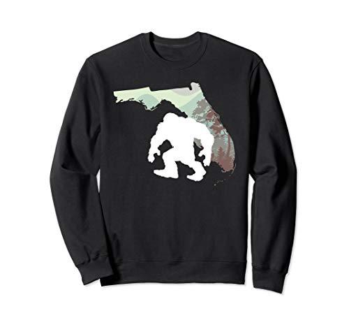 Hunter Sweatshirt Youth - Florida State Bigfoot Sasquatch Yeti Hunter Gift Sweatshirt