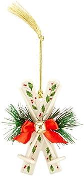 Lenox Holiday Skis Ornament