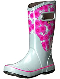 Kids Rubber Waterproof Rain Boot For Boys and Girls - Multiple Color Options