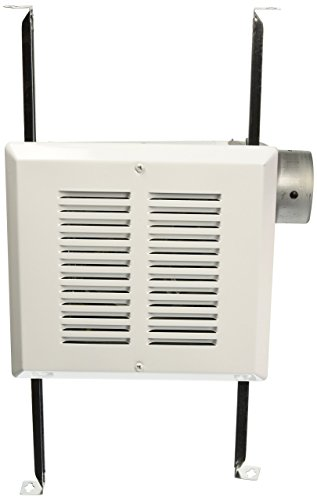 - Air King FRAS50 Fire-Rated Exhaust Bath Fan with 50-CFM and 3.0-Sones, White Finish