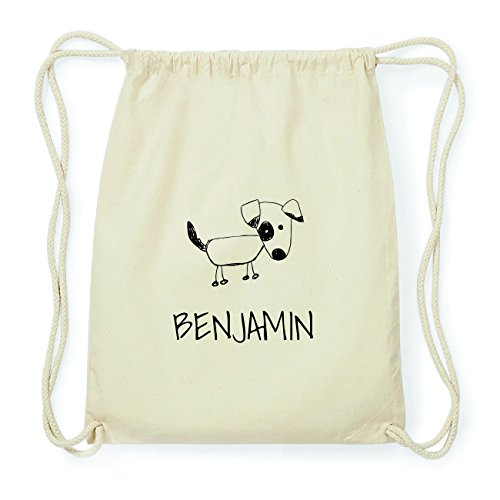 JOllipets BENJAMIN Hipster Turnbeutel Tasche Rucksack aus Baumwolle Design: Hund bqbRoJv8