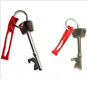 New creative metal key bottle opener, small and convenient Portable hot