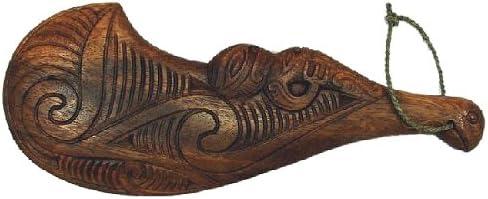 Maorí wahaika PATU madera Ceremonial arma: Amazon.es: Hogar