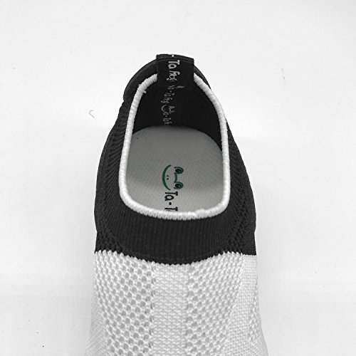 New Slim fit Flywire Knitting Jogging Shoes 3D Customized With Blessings Peace For Boys Girls