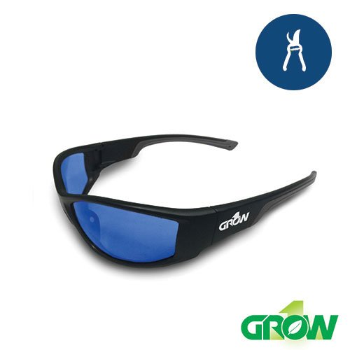 Grow1 Gruve Indoor Grow Room Glasses - Works for HPS and MH (Glass Mh Grow Light)