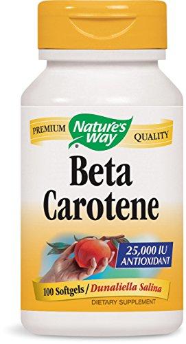 Natures Way Natural Carotene Softgels product image