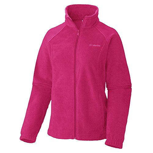 Columbia Women's Benton Springs Full Zip, Ruby Red, Large by Columbia